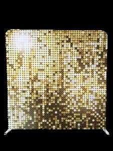 Photo Booth Hire Brisbane gold mosaic